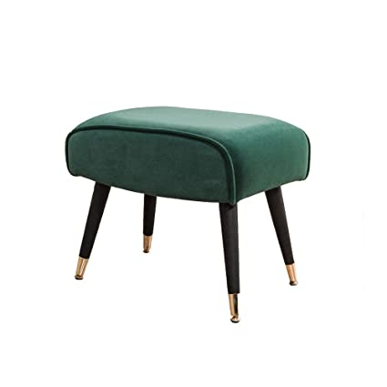 Enjoyable Dongy Sofa Stool Change Shoe Bench Cloth Art Makeup Stool Squirreltailoven Fun Painted Chair Ideas Images Squirreltailovenorg