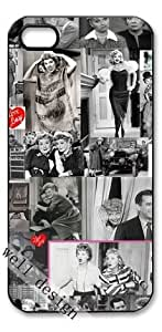 I Love Lucy classic television sitcom HD image case for iphone 4/4S black + Card Sticker