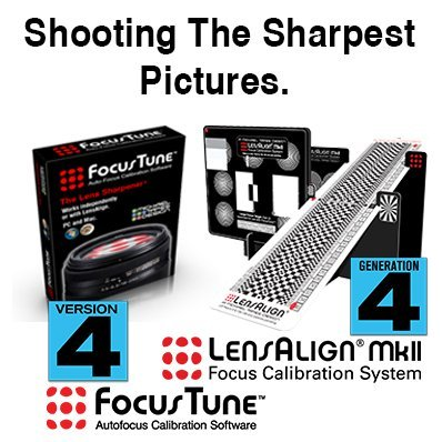 LensAlign Fusion Integrated AF Calibration System by Michael Tapes Design