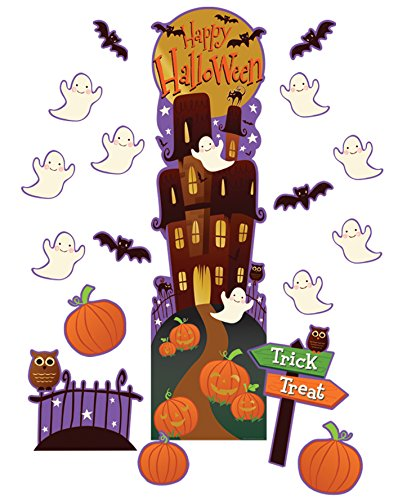 Eureka Halloween School Classroom Door Décor Kit, 30pc ()