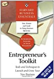 Entrepreneur's Toolkit: Tools and Techniques to Launch and Grow Your New Business (Harvard Business Essentials), , 1591394368