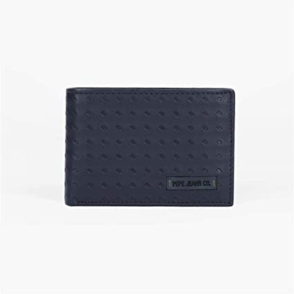 Cartera Pepe Jeans Rain horizontal con monedero Azul: Amazon ...
