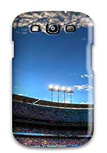 Special Snap-on Los Angeles Dodgers Hard Cover Case/ Protective Case For Galaxy S3