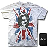 Sex Pistols God Save The Queen Rotten White T-Shirt + Coolie (L)