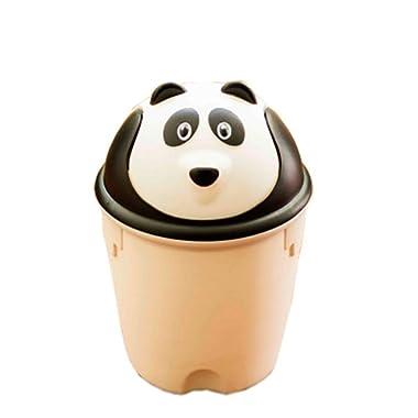 Kole Imports Animal Trash Can - Panda (White)