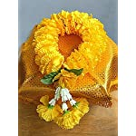 wonderflowers-Big-Size-Artificial-Yellow-Marigold-Garland-for-Make-a-Wish