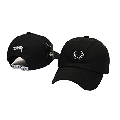 6a4c27fbf14 BeiGaoz-PP Fashion Bboy Hip Hop Unisex Adjustable Snapback Hat Cap Men Women  Baseball Caps STUSSY  Amazon.co.uk  Clothing