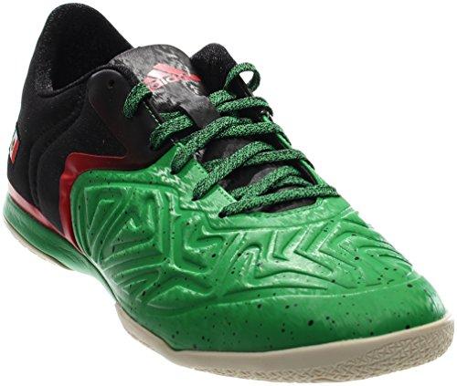 Adidas Mens Football Boots (adidas Performance Men's X 15.2 CT Soccer Shoe,Green/Black/White,10.5 M US)