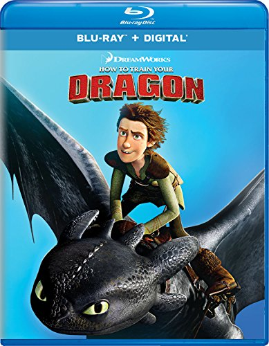 How to Train Your Dragon [Blu-ray] (Best Place To Scratch A Cat)