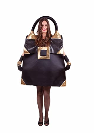 Designer Handtasche Kostum Schwarz It Girl Tasche Hollywood Kostum