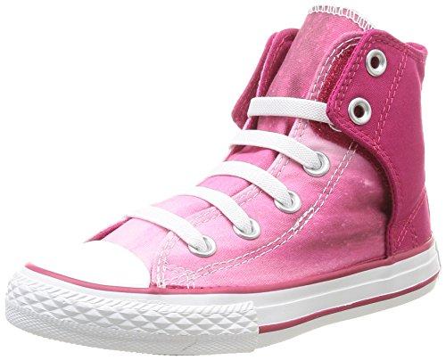 Converse Chuck Taylor Ea Slip Wash - Zapatillas de Deporte de canvas Infantil Rosa - Rose (Framboise)