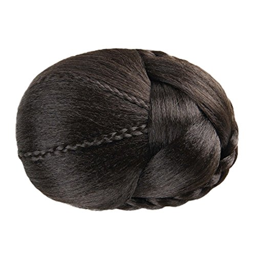 Short Messy Curly Dish Hair Bun Extension Easy Stretch hair Combs Clip in Ponytail Extension Scrunchie Chignon Tray Ponytail Hair piece Wig Hairpieces
