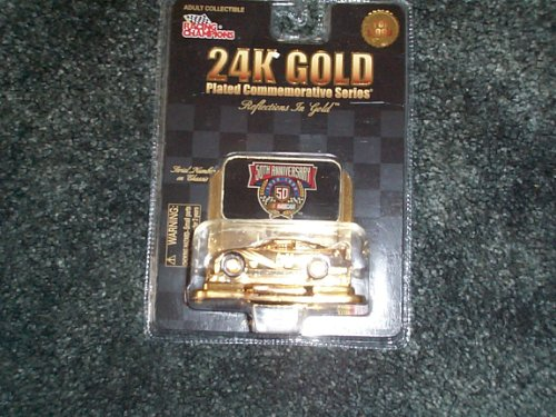 Nascar #63 50th Anniversary 24k Gold Plated Commemorative Series 24k Gold Plated Record