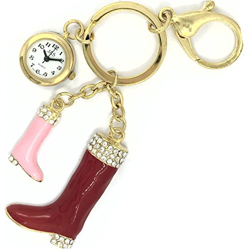 Red Boot - Novelty Belt Fob/Keychain by JAS