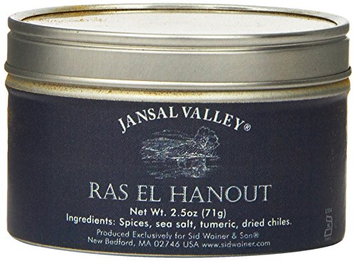 - Jansal Valley Ras El Hanout, 2.5 Ounce