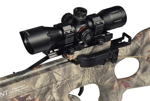 "UTG 4X32 1""Crossbow Scope, Pro 5-Step RGB Reticle, QD Rings"