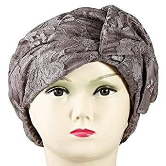 Shiyaka Hat and Cap for Women - Free Size, Gray