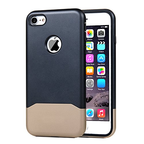 iPhone 7 Plus Case Turata Slim Fit Premium Coated Light Weight Ultra Thin Hard PC Case for iPhone 7 Plus 5.5 inch (2016) (Grey)