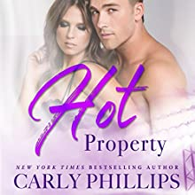 Hot Property: Hot Zone, Book 4 Audiobook by Carly Phillips Narrated by Sophie Eastlake