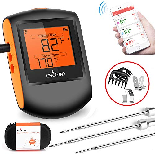 Meat Thermometer Bluetooth CHUGOD