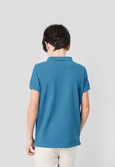 Scalpers Basic Polo Kids - Polo para niños, Talla 4, Color Azul ...