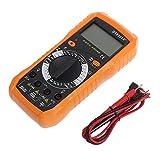 Rockrok Digital Multitester Large LCD Professional Handheld Ammeter Voltmeter Multimeter