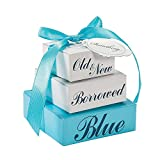 Something Blue Favor Boxes (12 Pack)