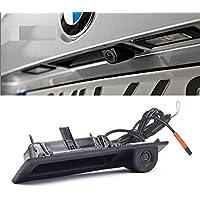 CCD HD Car Trunk Handle Camera Rear View Camera for BMW 3 5 X3 Series F10 F11 F25 F30 X5 X1 E82 E88 E84 E90 E91 E92 E93 E60 E61 E70 E71 E72(2011-2015) New Parking Backup
