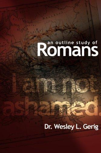An Outline Study of Romans pdf epub