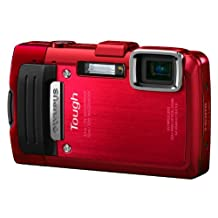 Olympus Stylus TOUGH TG-830 Digital Compact Camera - Red (16MP, 5x Wide Optical Zoom) 3 inch LCD
