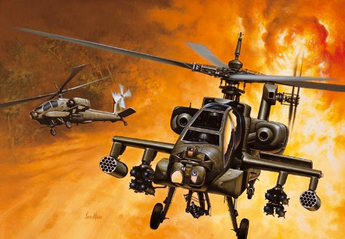Italeri – Ah-64a Apache 1:72 Scale