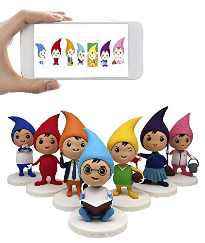 - Custom Cartoon Sculpture Animated Bobblehead Figurine, Seven Characters,DHL Expedited Shipping Service