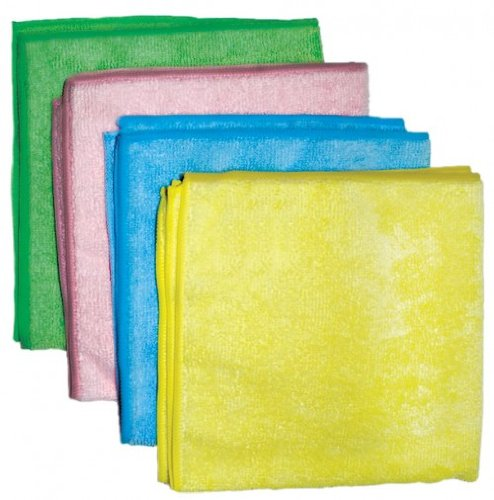 CPI MCLOTH B General Purpose Microfiber Cloth, 16-Inch x 16-Inch, Blue (Pack of 12)