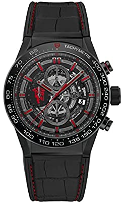 TAG HEUER CARRERA Calibre HEUER 01 Automatic Chronograph Limited Edition Red Devil Manchester United CAR2A1J.FC6400 by TAGHeuer