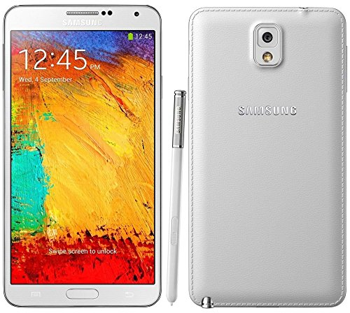 (Samsung Galaxy Note 3 N900A 32GB Unlocked GSM Octa-Core Cell Phone - White (Renewed))