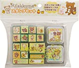 San-X Rilakkuma Stamp Set 16 pcs FT40501