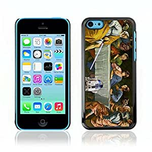 Colorful Printed Hard Protective Back Case Cover Shell Skin for Apple iPhone 5C ( Funny Star Last Supper )