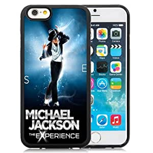 Beautiful Custom Designed Cover Case For iPhone 6 4.7 Inch TPU With Michael Jackson The Experience Phone Case