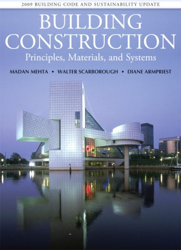 Building Construction: Principles, Materials, and Systems...