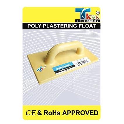 Edificio flotadores de escayola Poly lijadora con mango 180 mm x 320 mm ligero flotador hecho