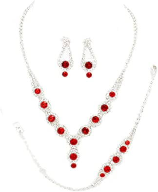 Women Jewelry Zircon rose gold Diamante Sparkling Crystal  Bracelet