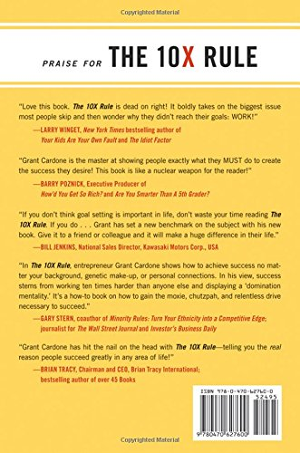 Grant Cardone 10x Rule Pdf