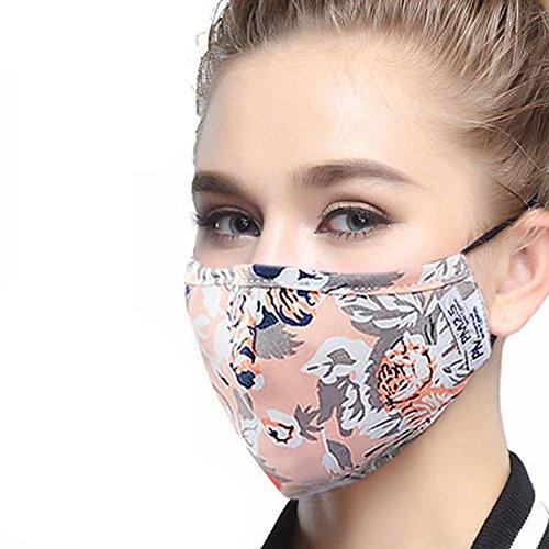ZWZCYZ Masks Dust Mask Anti Pollution Mask PM2.5 4 Layer Act