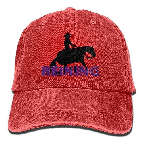 1aaeee2e2476b7 Yuisdwz Reining 3D Cowboy Hat Rear Cap Adjustable Cap ABCDE03536
