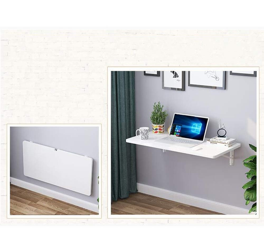MDBYMX Mesa de Pared Mesa de Pared, Plegable Simple Escritorio ...