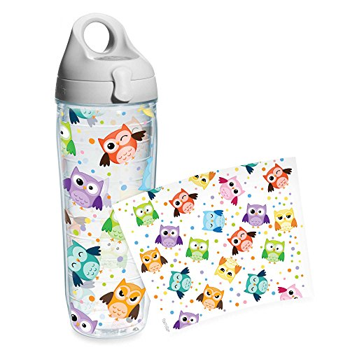 Tervis Whimsical Owls Wrap 24-Ounce Water Bottle by Tervis