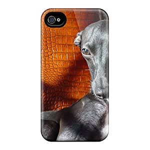Fashion Tpu Case For Iphone 4/4s- Siri Defender Case Cover