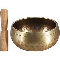 Tomshin Budista Tibetano Singing Bowl Buddha Sound Bowl Instrumento Musical para Meditação com Stick Yoga Decoração para…
