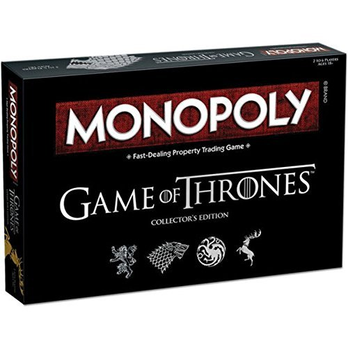 USAopoly For Game of Thrones Collectors Edition Board Game (Monopoly Customized Games)
