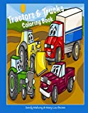 img - for Tractors & Trucks Coloring Book book / textbook / text book
